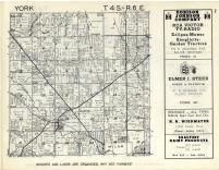 York T4S-R6E, Washtenaw County 1957